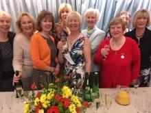 the Flower club committee members