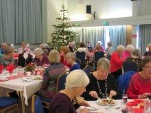 Members enjoying Christmas lunch
